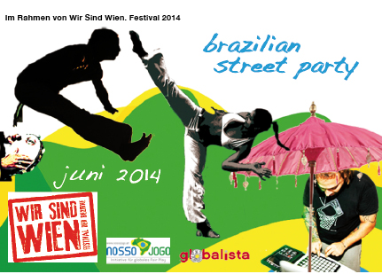 Brazilian Street Party @ WIR SIND WIEN 2014