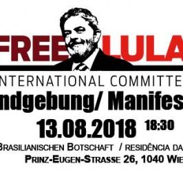 FREE LULA – das ÖSTERREICH KOMITEE
